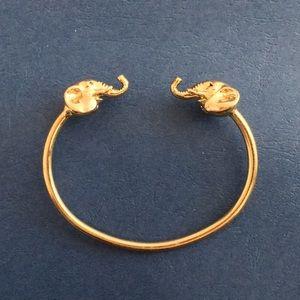 Elephant bracelet torc style